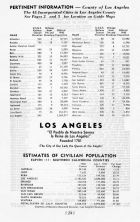 Pertinent Information 1, Los Angeles and Los Angeles County 1949